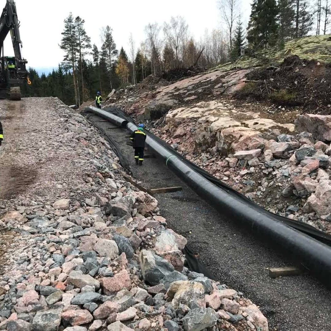 Construction of 21km gas pipeline DN500, pig launcher station DN500 and one valve station DN500