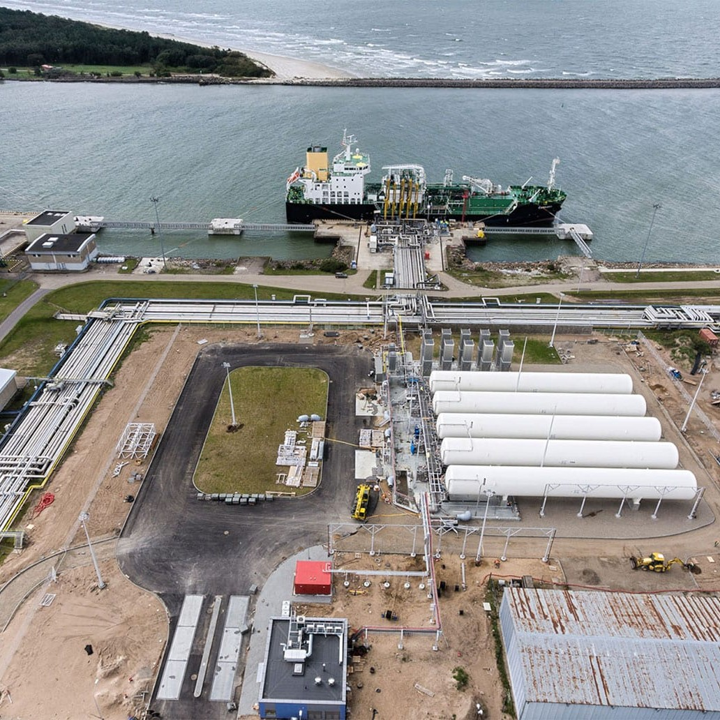 ENGINEERING AND CONSTRUCTION WORKS OF THE KLAIPEDA LNG RELOADING STATION